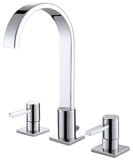 Long Bathroom Sink With Two Faucets : All Products / Bath / Bathroom Faucets / Bathroom Sink Faucets