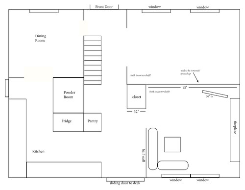Living Room & Family Room Into One Room, How To Arrange Furniture?