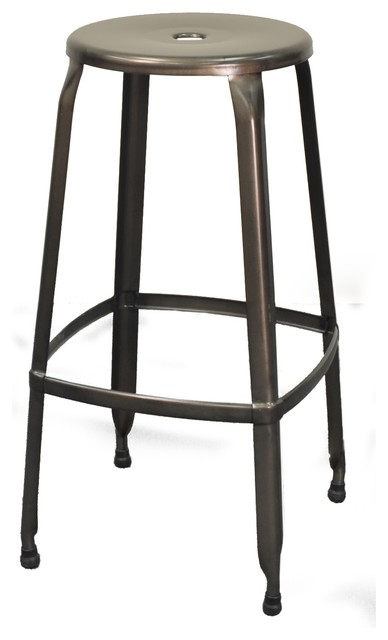 New Pacific Direct Inc Aria Metal Backless Bar Stool