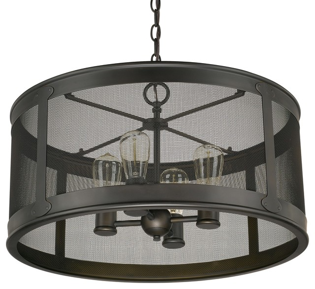 Dylan Transitional Outdoor Pendant Light Industrial Outdoor Hanging Lights