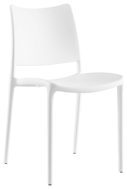 Hipster Dining Side Chair, White.