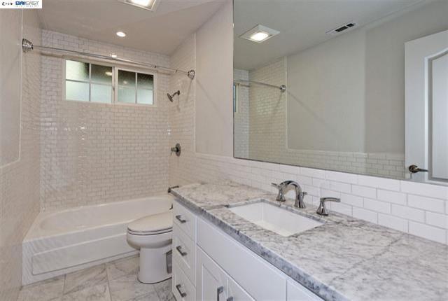 Oakland Hills guest bathroom