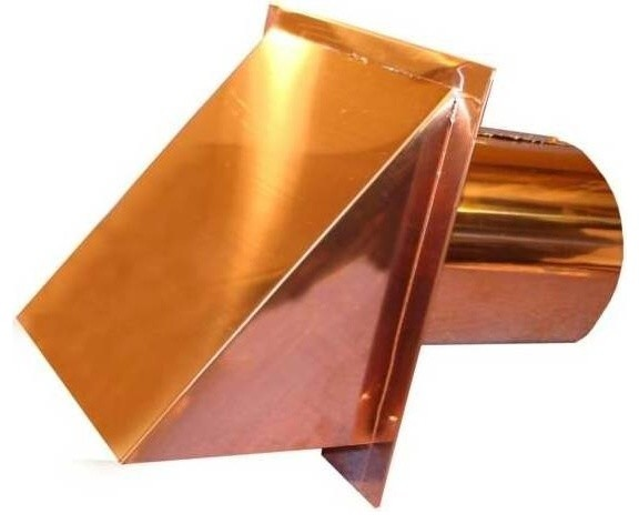 Luxury Metals Copper Exterior Side Wall Cap Reviews Houzz