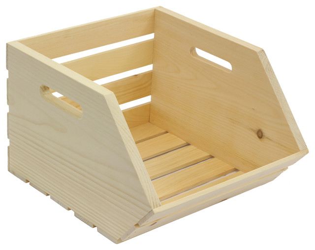 Captivating Vegetable Crate Farmhouse Storage Bins And Boxes