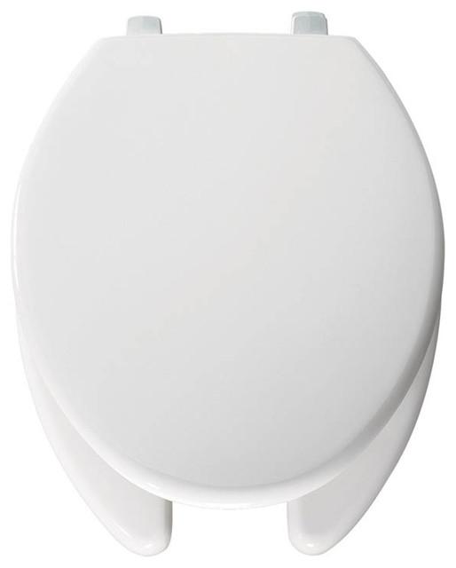 Bemis 7850TDG 000 Hospitality Plastic Elongated Toilet