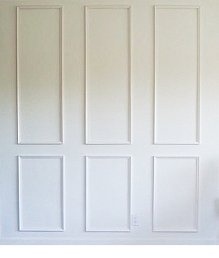 Unique Millwork Wall Covering And: Six Piece Raised Moulding Kit For Walls~ Get The Custom