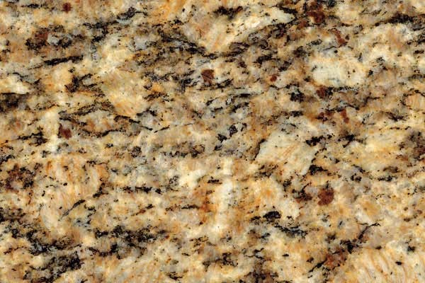 Santa cecilia granite for white kitchen cabinets for Granito santa cecilia