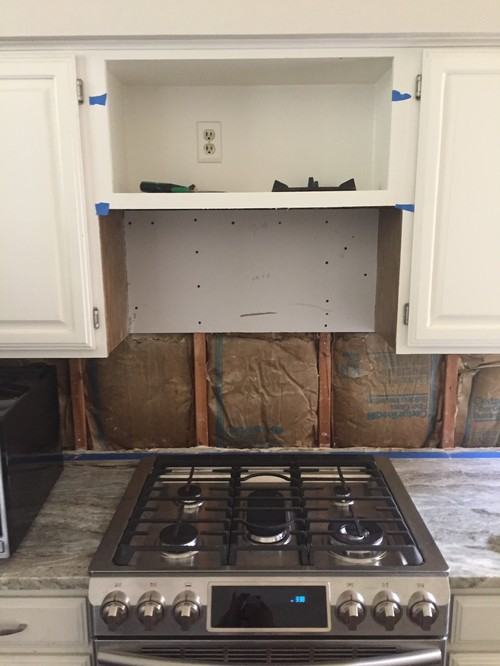 Under Cabinet Range Hood (too Low)