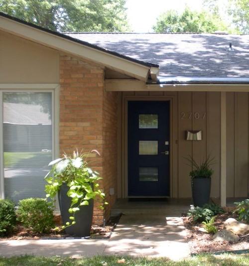Mid century ranch front door - Mid century front door ...
