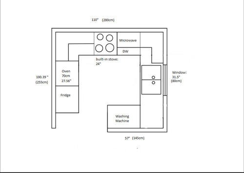 Need help with my kitchen layout - Dishwasher small space plan ...