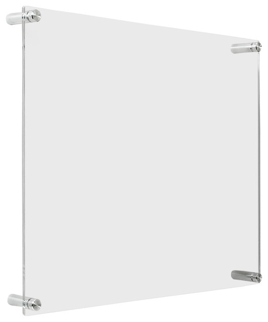 Acrylic Wall Frames 1518d double panel acrylic 15x18 wall frame for 11x14 art