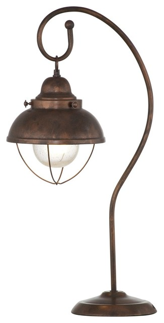 Alleghany table lamp copper traditional table lamps