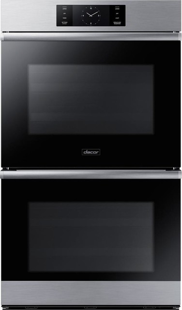 Dacor Modernist 30 9.6 Cu. Ft. Electric Double Wall Oven, Stainless Steel.