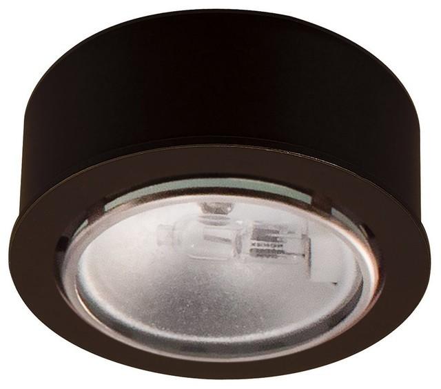 Xenon Low Voltage Button Puck Light - Contemporary ...