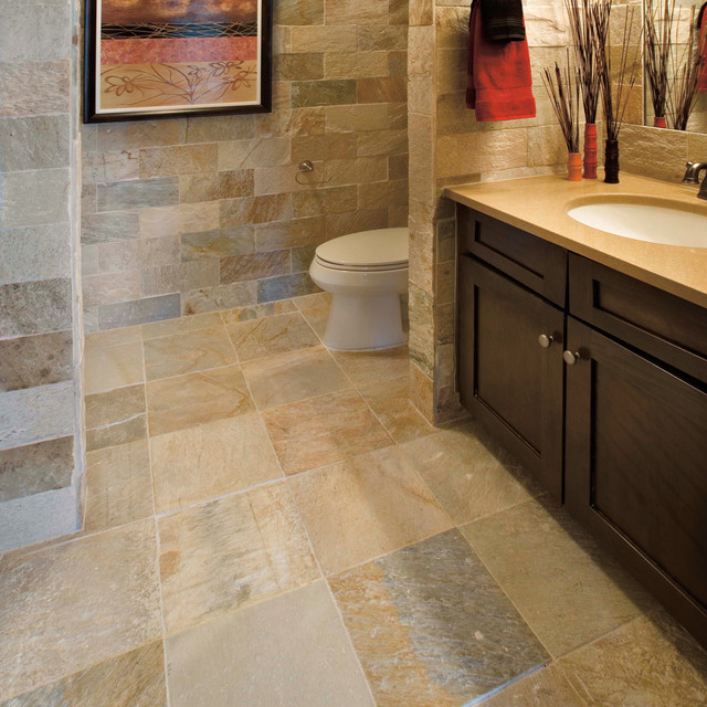 Golden Gate Quartzite Bathroom