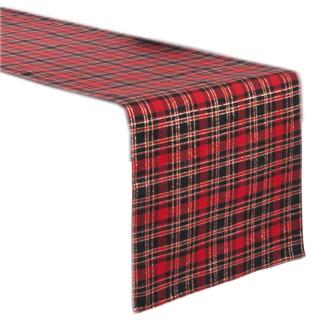 *NEW* CRANFORD RED TARTAN TABLE RUNNER