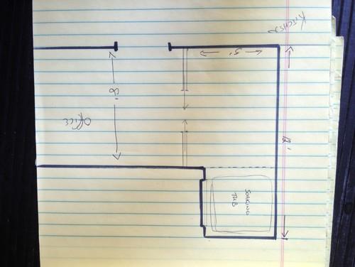 Small Bathroom Addition help with new small bathroom addition floor plan