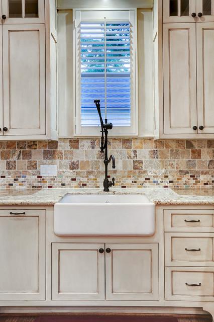 厨房-白色-细节装修效果图
