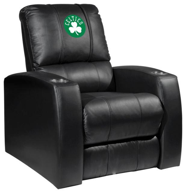 Boston Celtics NBA Relax Recliner With Secondary Logo Panel by DreamSeats LLC