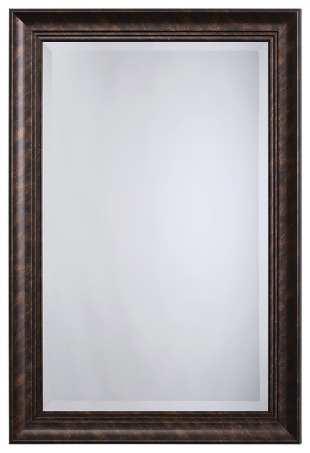 Mirror Frame, Dark Bronze Color.