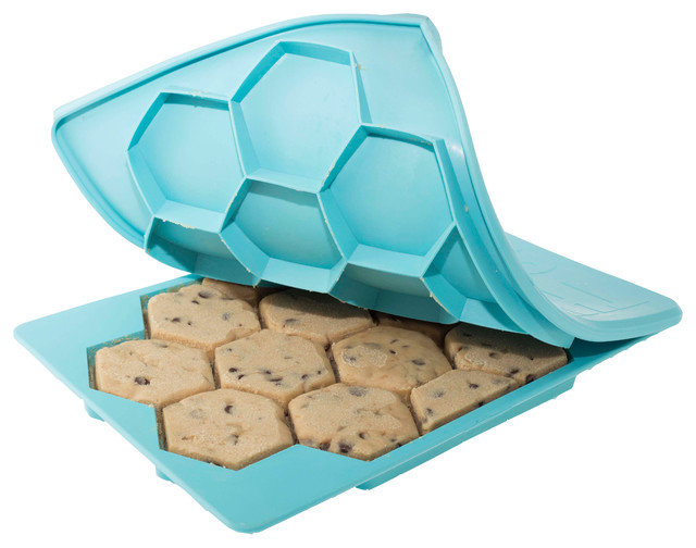 The Smart Cookie Innovative Cookie Cutter And Freezer Container. -1