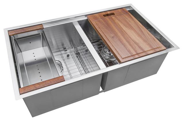 Bergen Oslo Workstation, Fully Loaded Sink Kit