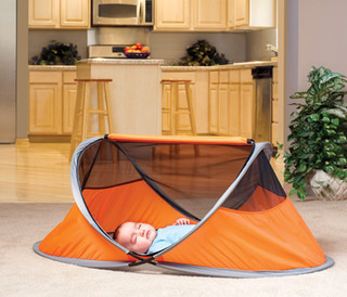 Kidco PeaPod Lite Travel Tent eclectic cribs