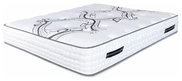 "Spectra Orthopedic Mattress 13.5"" Medium Firm Quilted-Top Double Sided, Queen."