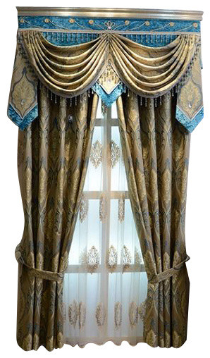 Luxury Window Curtain Aegean Sea Curtains By Ulinkly