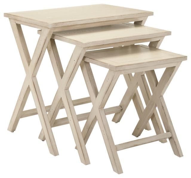 Safavieh Maryann Stacking Tray Tables.