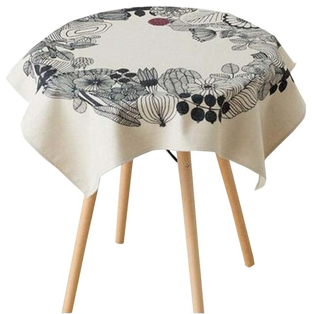 Exceptionnel Country Style Cotton Linen Tablecloth, Bedside Table Dust Proof Cloth,  85x85Cm