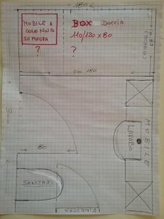 Ristrutturazione box doccia for 1850 design della cucina