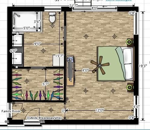 need help with master bedroom layout. Black Bedroom Furniture Sets. Home Design Ideas