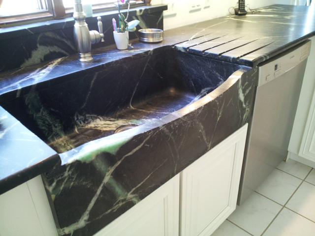 Kitchen Sinks: Soapstone for Germ-Free Beauty and Durability