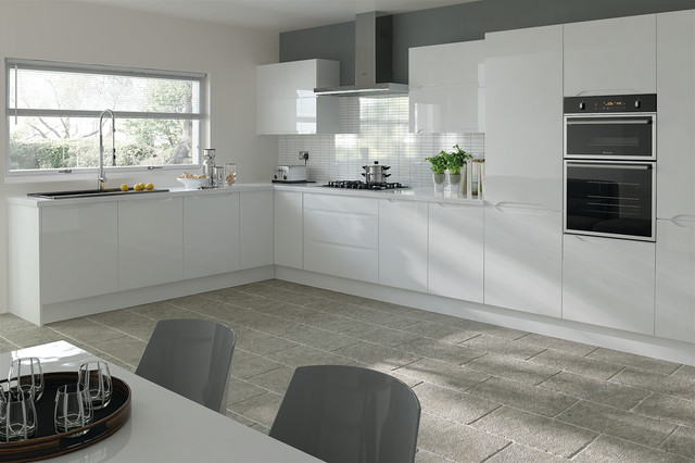 Trends Petworth High Gloss White Kitchen Doors