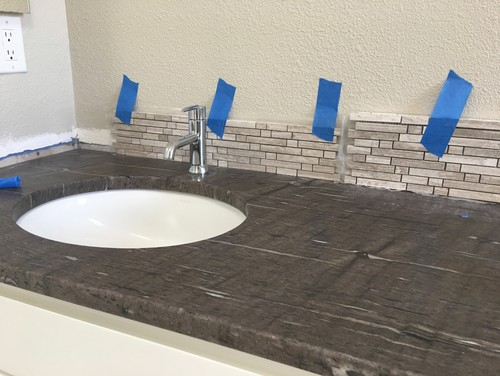 Merveilleux Requesting Advice For Bathroom Vanity Backsplash Height