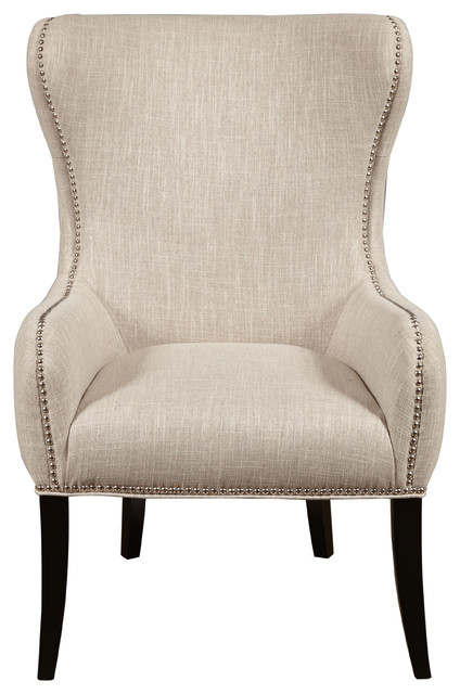 Upholstered Armchair Seraphine Mink