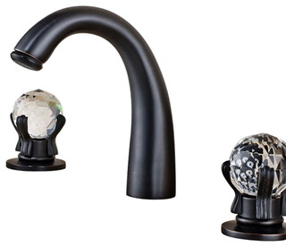 BathSelect Elateia Oil Rubbed Bronze Sink Faucet