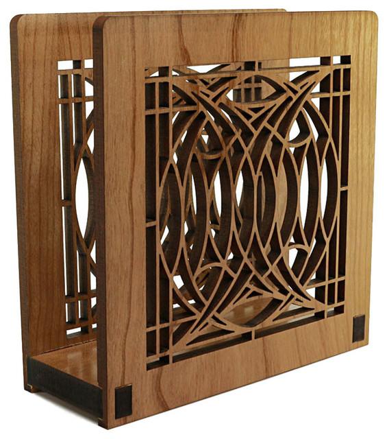 Frank Lloyd Wright Blossom House Napkin Or Letter Holder  Craftsman Napkin Holders