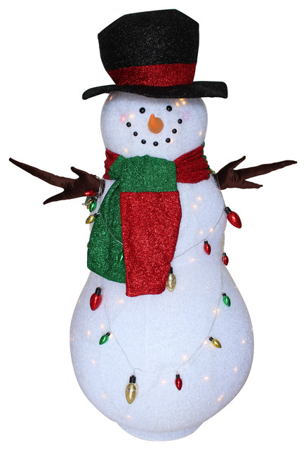 R G Styles Large 60 Quot Inflatable Snowman Outdoor Yard