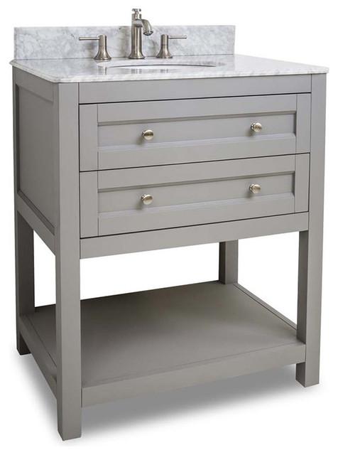 Hardware Resources Jeffrey Alexander Van103-30-T Astoria Modern Vanity.