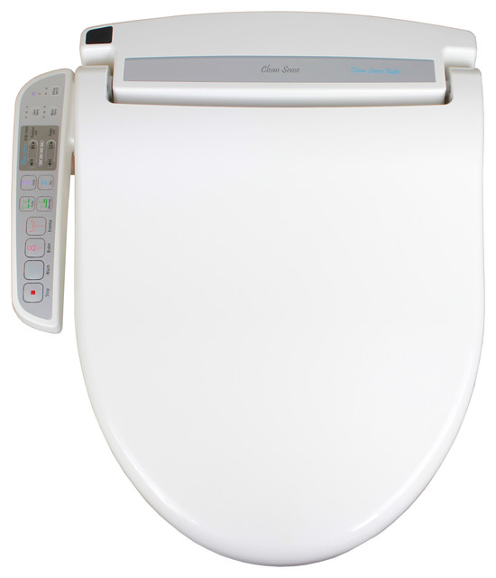 Awesome Clean Sense Dib 1500 Electronic Bidet Toilet Seat With Side Control Panel Bralicious Painted Fabric Chair Ideas Braliciousco