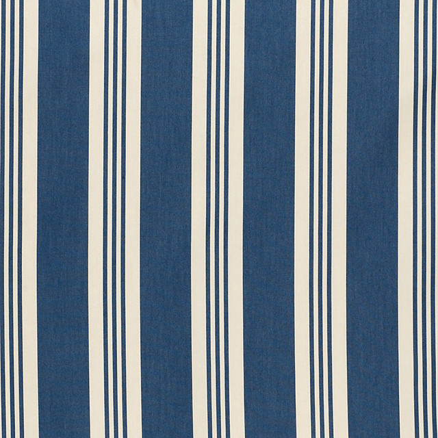 French Stripe Navy EasyCare Fabric by the Yard