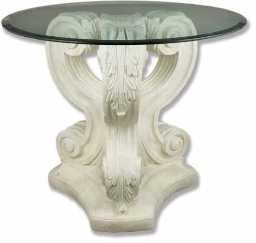 Acanthus Leaf Table Base, Pedestal Sculpture