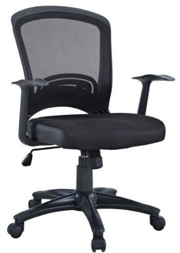 Office Chair In Black Contemporary Office Chairs By Manhattan