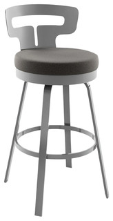Amisco Times Swivel Stool, 26""