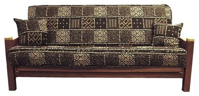 Blazing Needles 3 Pc Tapestry Futon Cover Package Autumn Harvest