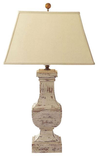 Visual fort Lighting E F Chapman Balustrade Decorative Table Lamp Farmh