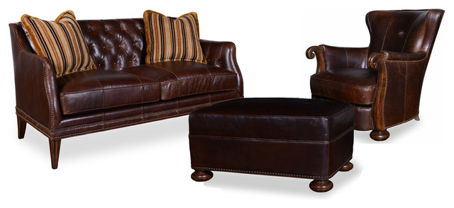 Signature Design by Ashley Kennedy Living Room Set With Settee ...