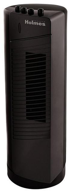 Holmes Ht17mbk-U Mini Tower Small Room Fan Black.